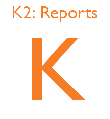 K2 Reports Frequently Asked Questions